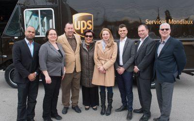 UPS Canada intronise son 150e livreur au prestigieux Cercle d'honneur et entame ses célébrations dans le cadre du 150e anniversaire du Canada